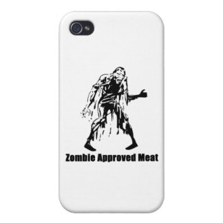 Zombie Approved Meat Cover For iPhone 4