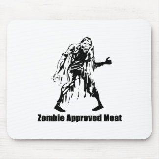 Zombie Approved Meat Mouse Pad
