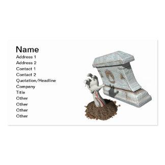 Zombie Arm Grave Business Cards