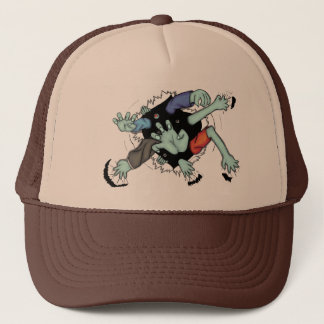 Zombie Arms Bursting Out Of Your Trucker Hat