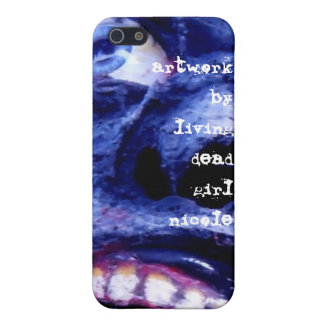 Zombie Artwork By Living Dead Girl Nicole iphone c iPhone SE/5/5s Cover