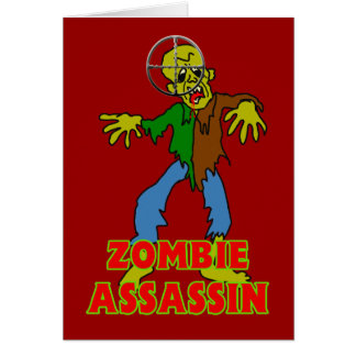 Zombie Assassin Card
