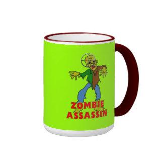 Zombie Assassin Ringer Mug