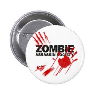 Zombie Assassin Society Pins