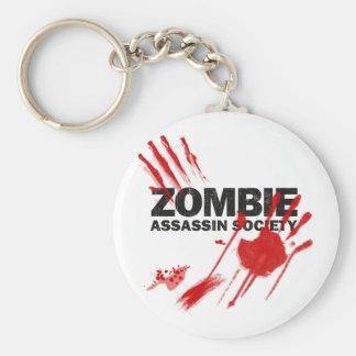 Zombie Assassin Society Keychain