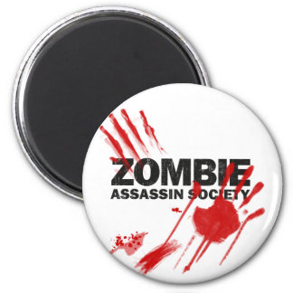 Zombie Assassin Society Magnet