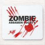 Zombie Assassin Society Mouse Pad
