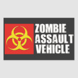 Zombie Assault Vehicle Sticker