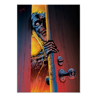 Zombie At Your Door Poster