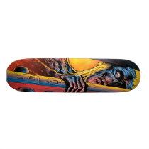 Zombie At Your Door Skateboard