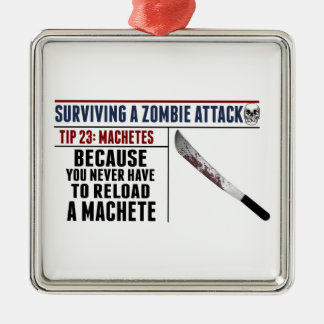 ZOMBIE ATTACK 23 Premium Ornament