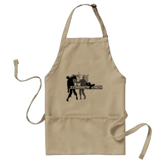 Zombie Attack Adult Apron
