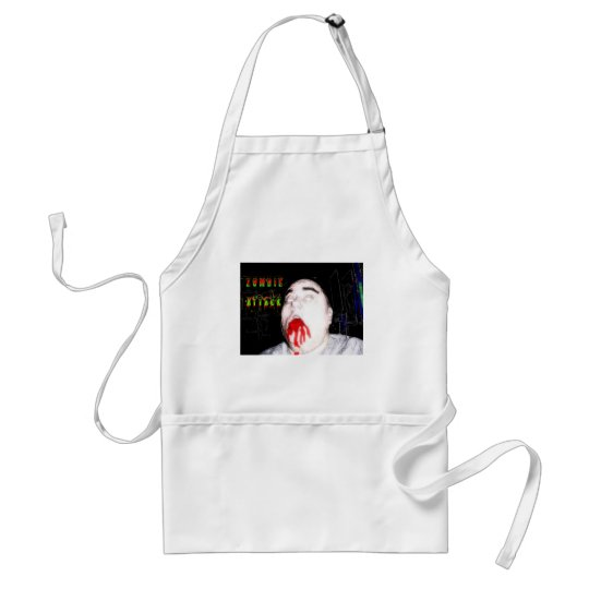 ZOMBIE ATTACK II ADULT APRON
