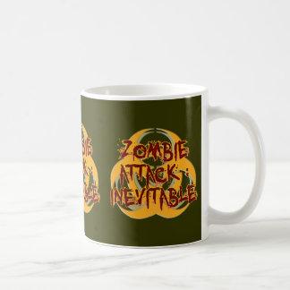 Zombie Attack Inevitable Coffee Mugs