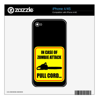 Zombie Attack Skin For The iPhone 4
