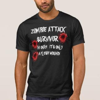 ZOMBIE ATTACK SURVIVOR (Dark) Tees