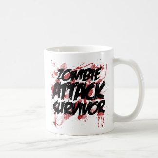 Zombie Attack Survivor Coffee Mug