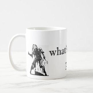 Zombie Attck - What's Your Plan? Coffee Mug