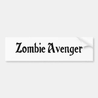 Zombie Avenger Bumper Sticker