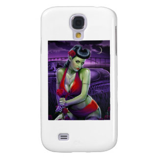 zombie babe galaxy s4 case