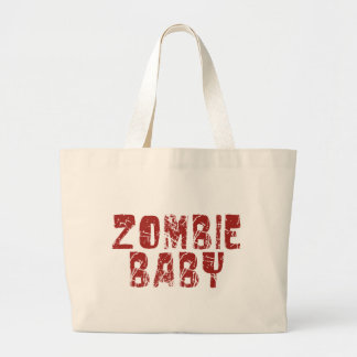 zombie baby tote bag