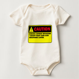 ZOMBIE BABY BODYSUIT