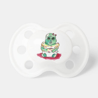 Zombie Baby Girl Pacifier