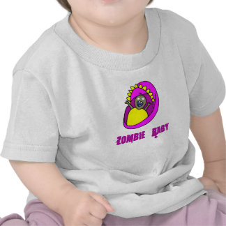 Zombie baby infant shirt