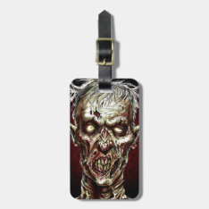 Zombie!! Bag Tag at Zazzle