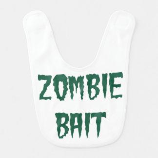 Zombie Bait baby bib