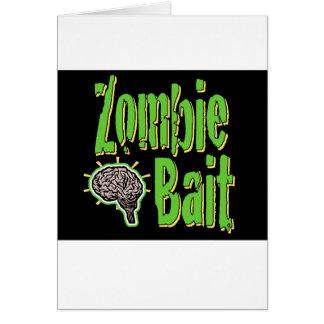 Zombie Bait Card