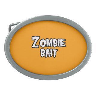 ZOMBIE BAIT - - Halloween Belt Buckles