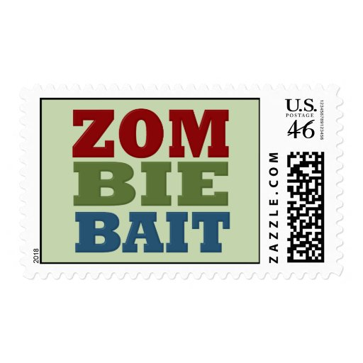 ZOMBIE BAIT STAMPS