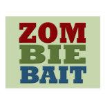 ZOMBIE BAIT POSTCARDS