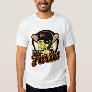 Zombie Baseball Furies T-Shirt