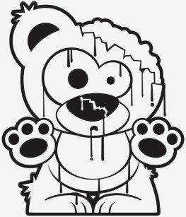 Zombie Bear Gifts On Zazzle