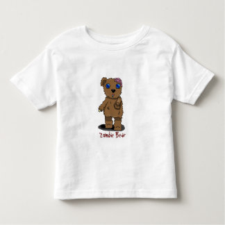 Zombie Bear for Toddlers! Toddler T-shirt