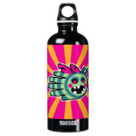 Hand shaped Zombie bee is hungry! aluminum water bottle