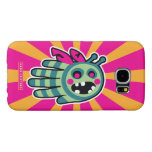 Hand shaped Zombie bee is hungry! samsung galaxy s6 case