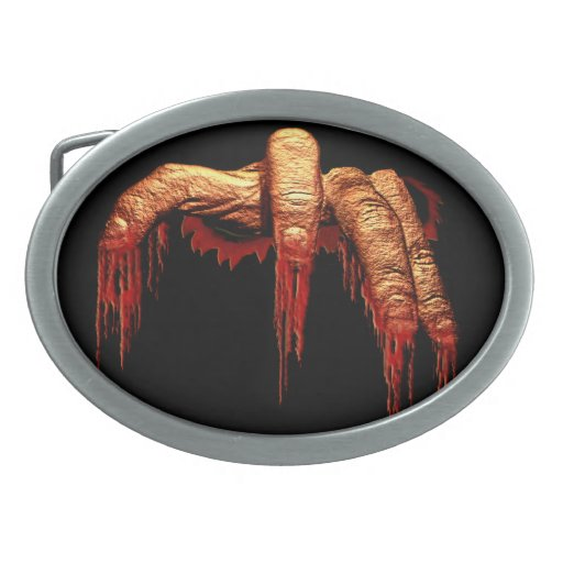 Zombie Belt Buckle Halloween Gory Zombie Buckle