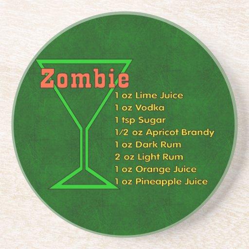 Zombie Beverage Coaster