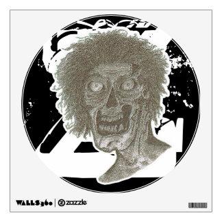 Zombie! Big Z Black and White Wall Sticker