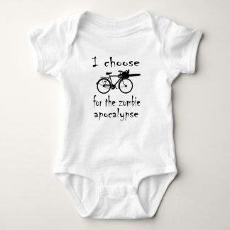 Zombie Bike Baby Bodysuit