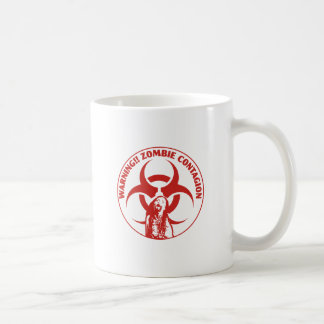 Zombie Bio-hazard Contagion Coffee Mug
