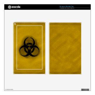 Zombie Biohazard Kindle Fire Case Skins For Kindle Fire