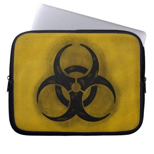 Zombie Biohazard Laptop Sleeve