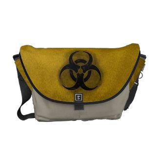 Zombie Biohazard Messenger Bags
