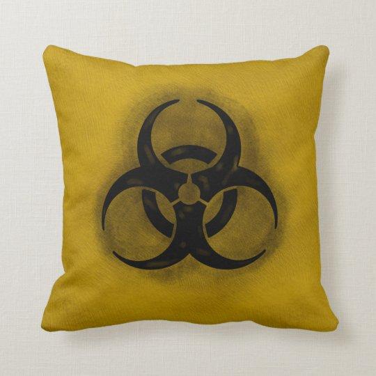 Zombie Biohazard Pillow