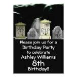 Zombie Birthday Party Invitation