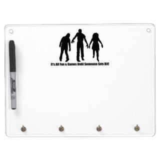 Zombie Bite Dry Erase Board